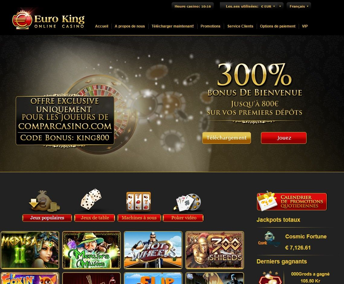 euro king casino vs euromoon casino avis